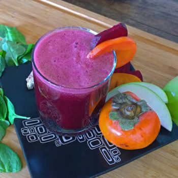 persimmon-beet-spinach-juice